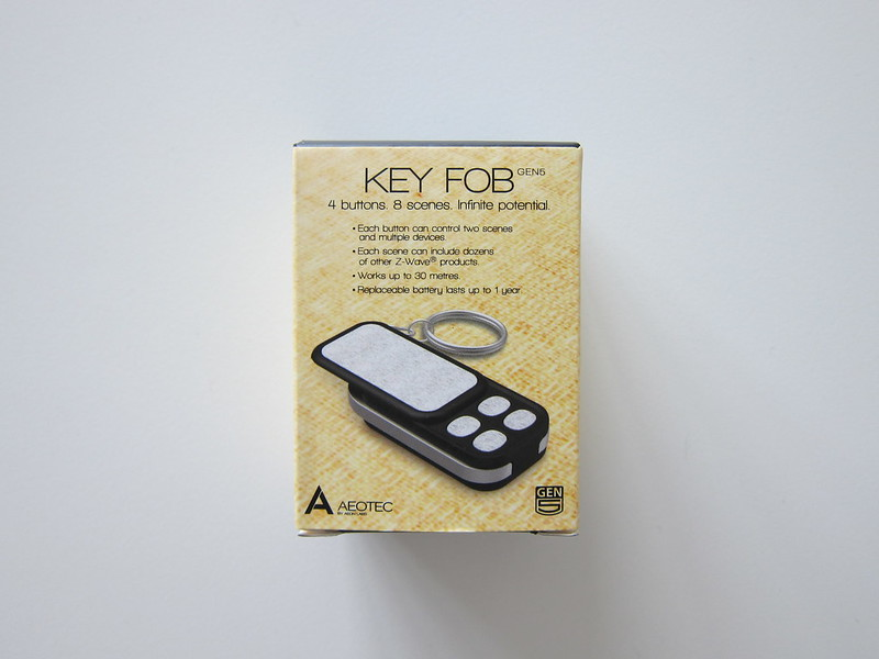 Aeon Labs Aeotec Z-Wave Key Fob Remote - Box