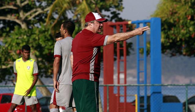 Fluminense: Na Urca, Levir comanda coletivo visando duelo contra o Cruzeiro