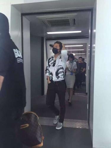 BIGBANG lArrival Shenzhen from Seoul 2015-08-07 017