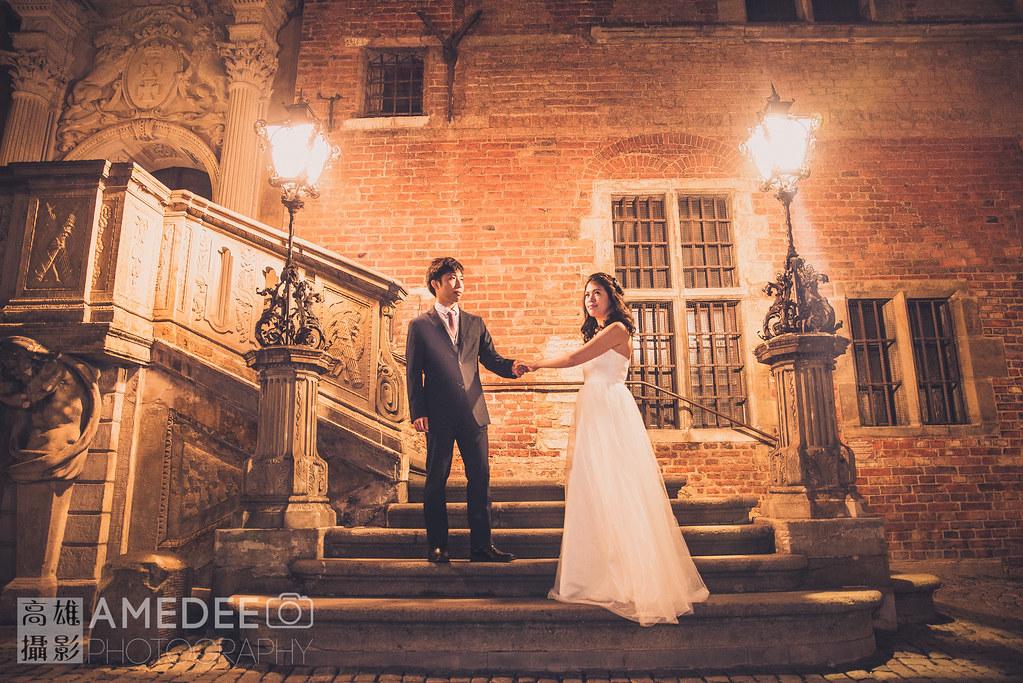 Alicia & Lai 格但斯克婚紗攝影