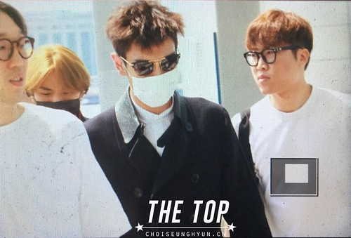 Big Bang - Incheon Airport - 29may2015 - TOP - The TOP - 02