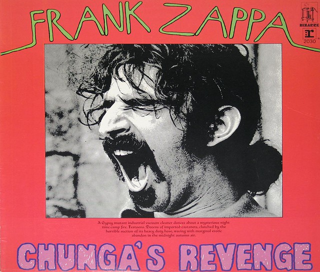 "FRANK ZAPPA CHUNGA'S REVENGE Canada 12"" LP"