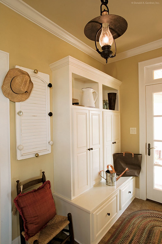Main Floor Mud Room of Plan #1125-D - The Cedar Ridge