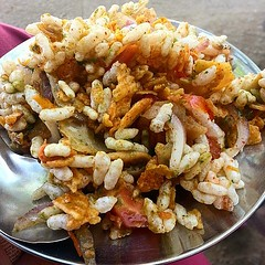 #bhel the #staple #food from #Mumbai #yummy #tasty #everydaymumbai @everydaymumbai