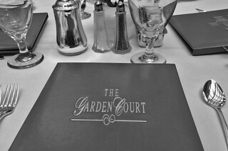 The Garden Court - Menu