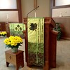 Paraments - Green; pulpit & Table