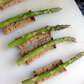 asparagus soldiers