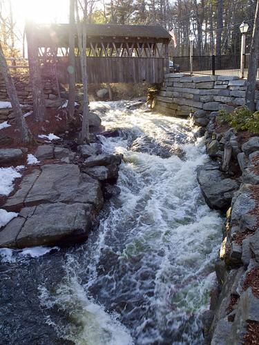 bridge water restaurant coveredbridge theoldmill zuikodigital olympus1260mm