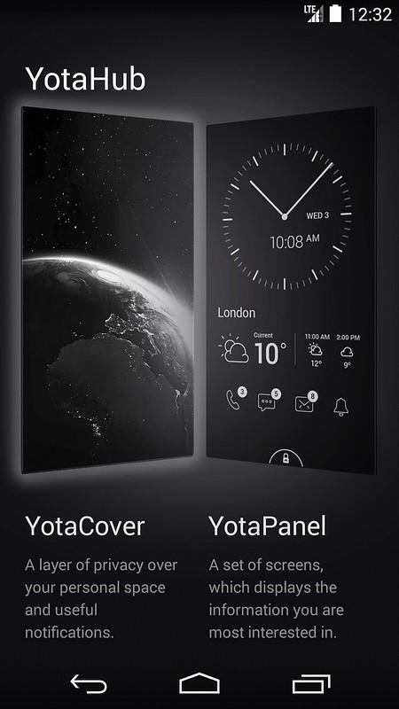 YotaPhone 2 - YotaHub