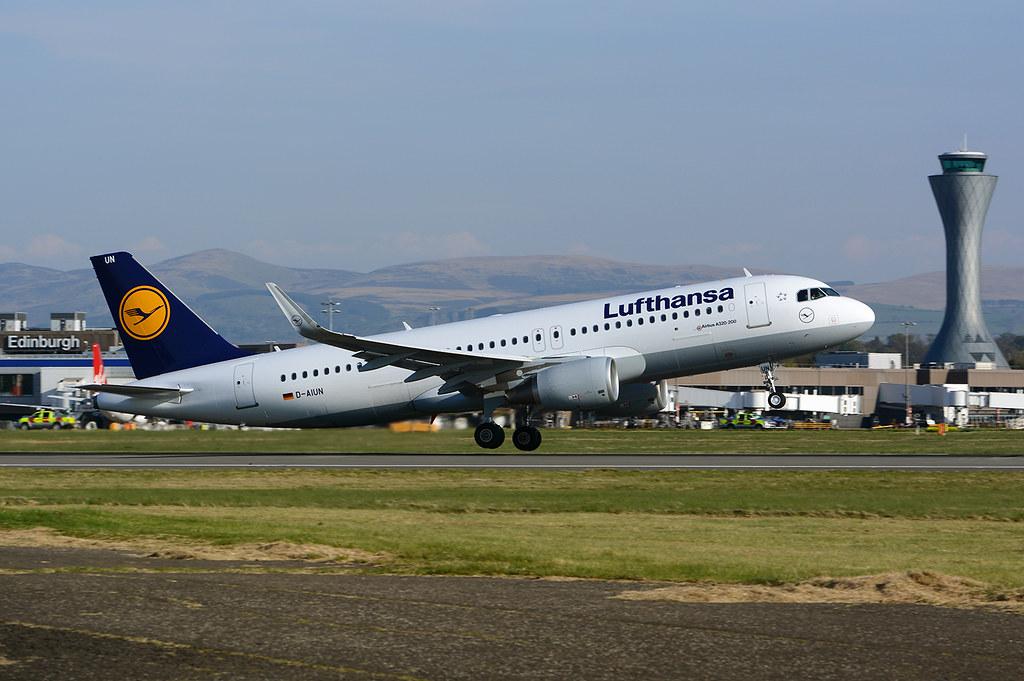 D-AIUN - A320 - Lufthansa