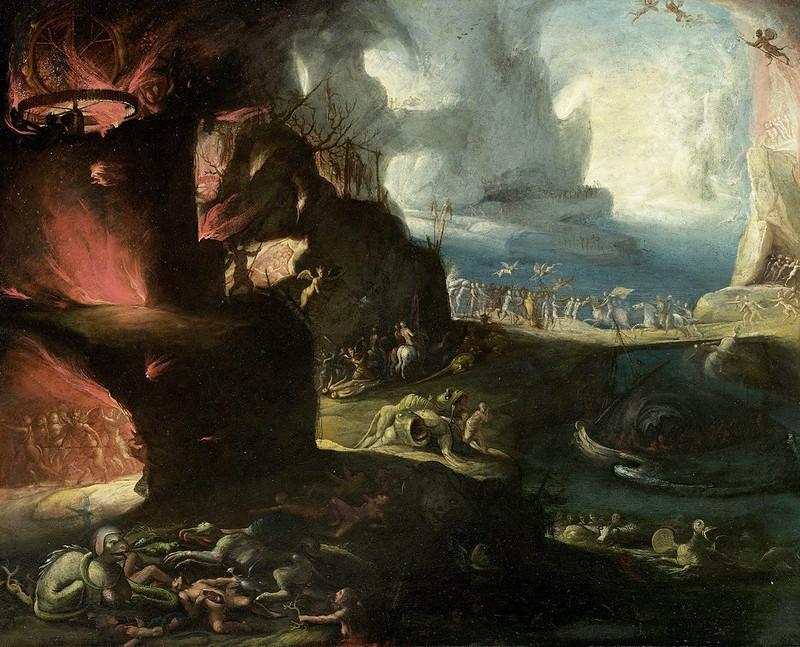 Jakob Isaacsz van Swanenburg - L'enfer
