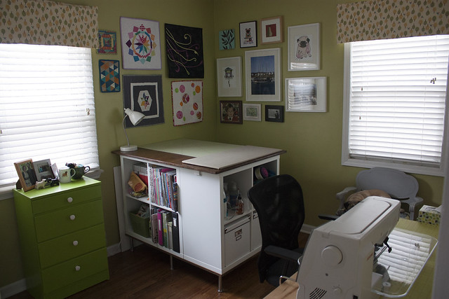 Updated Craft Room