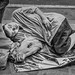 Sidewalk sleeper by FotoGrazio