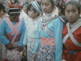 Guizhou China  2007贵阳石头寨(二月十五)跳场