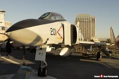 153880 NK-201 - 2466 - US Navy - McDonnell Douglas F-4S Phantom II - USS Midway Museum San Diego, California - 141223 - Steven Gray - IMG_6594