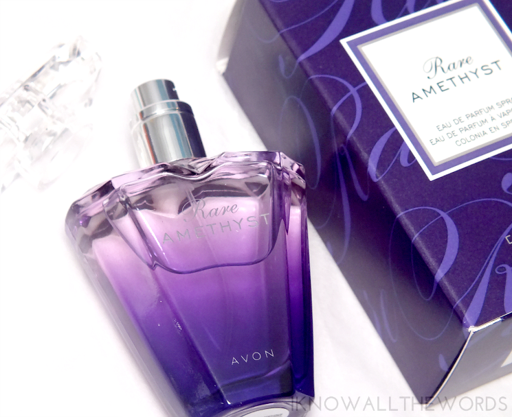 feeling fragrant with avon rare ametyst