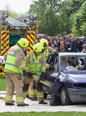 Emergency Services Demonstration at the Wallingford Car Rally