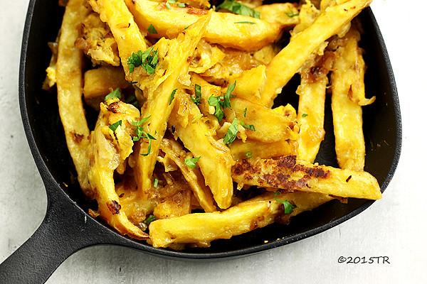 希臘式蛋汁薯條-20150519