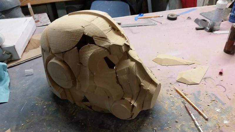 Helmet Assembly Progress