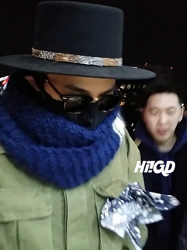 Big Bang - Gimpo Airport - 27feb2015 - G-Dragon - Hi GD - 04