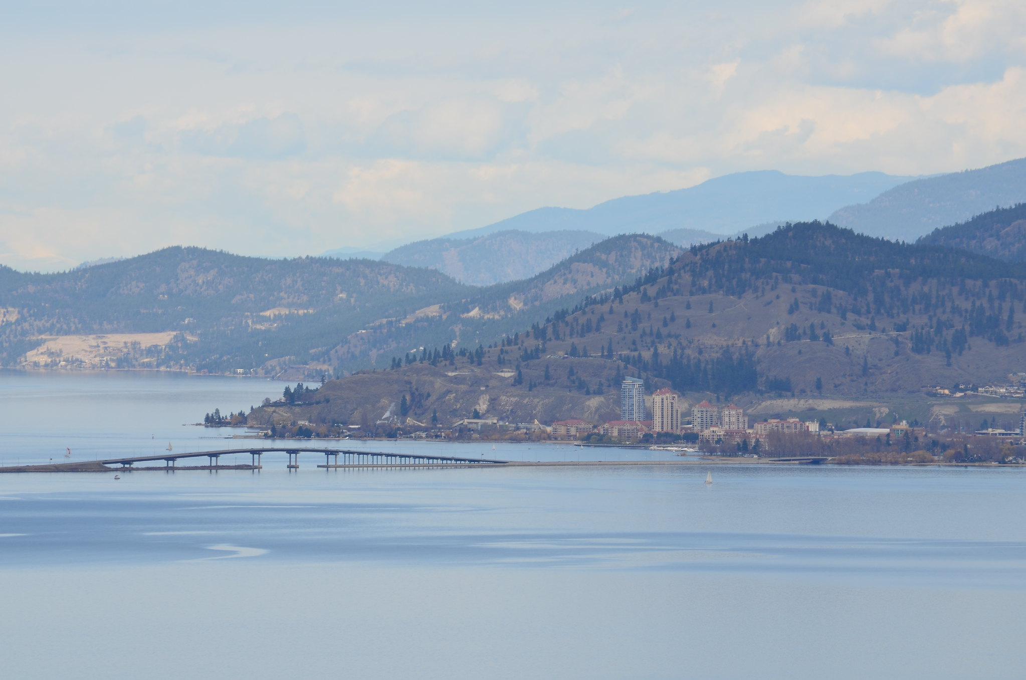 View of Downtown Kelowna