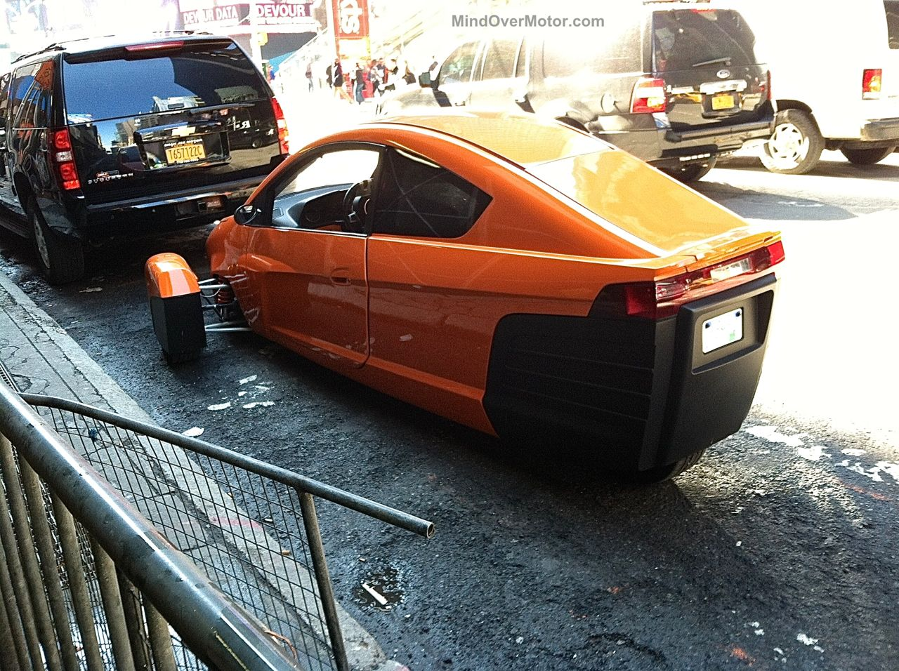 Elio Motors in NYC 2