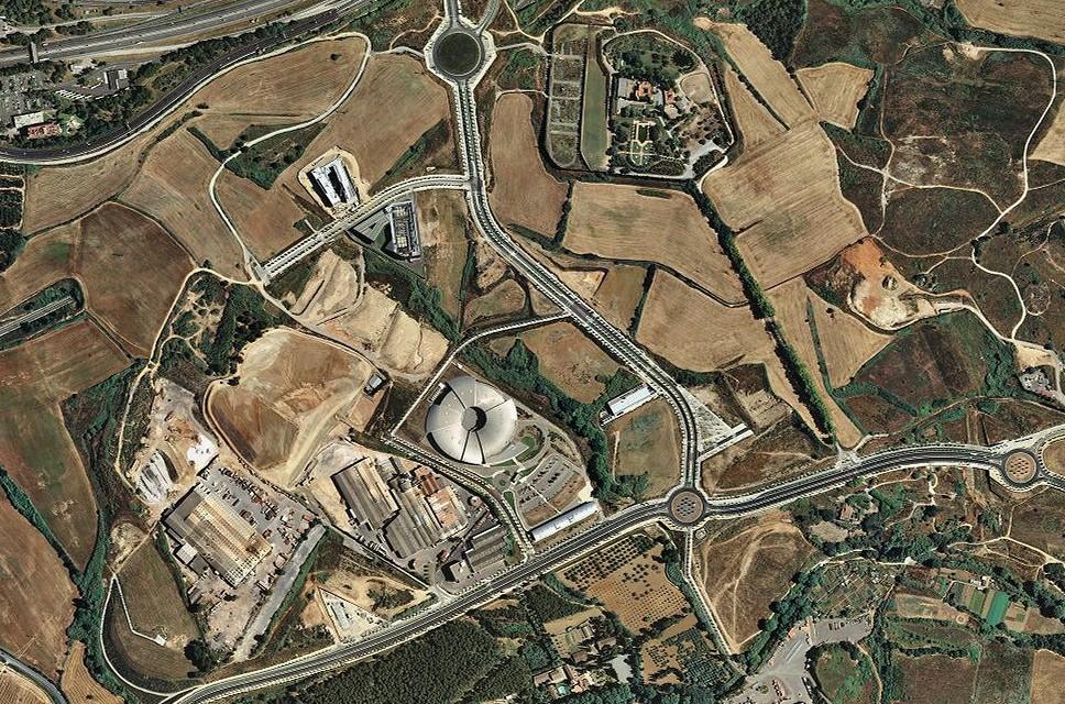 cerdanyola del vallès, barcelona, sicaliptitron, después, urbanismo, planeamiento, urbano, desastre, urbanístico, construcción, rotondas, carretera
