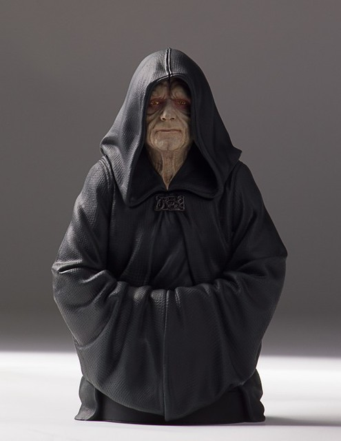 [Gentle Giant] Star Wars - Emperor Palpatine 1/6 Mini Bust 16533347244_13621d0c9a_z