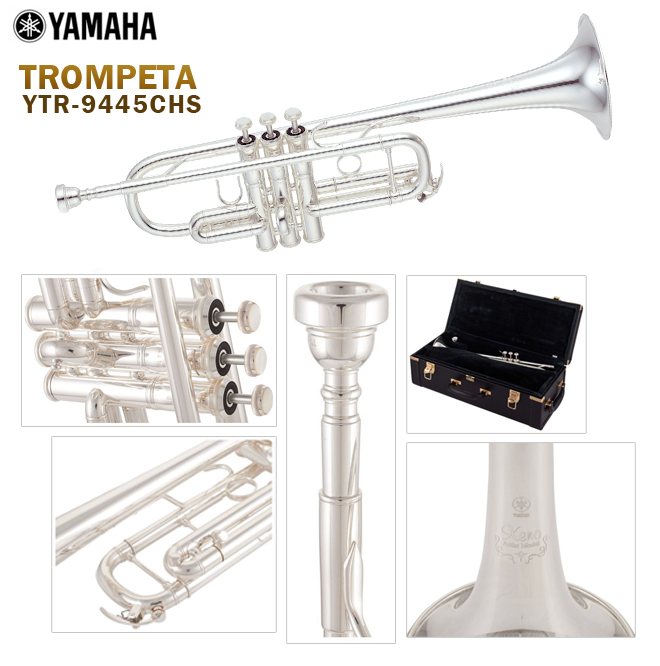 yamaha trompeta ytr-9445chs