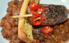 Moroccan Spiced Lamb Kebab, Dal Makhani with Chill…