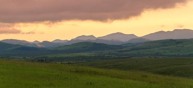 Cowboy Trail Sunset IV