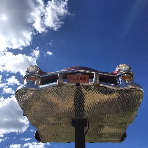 There are flying cars in Jerome, AZ #Jerome #arizona