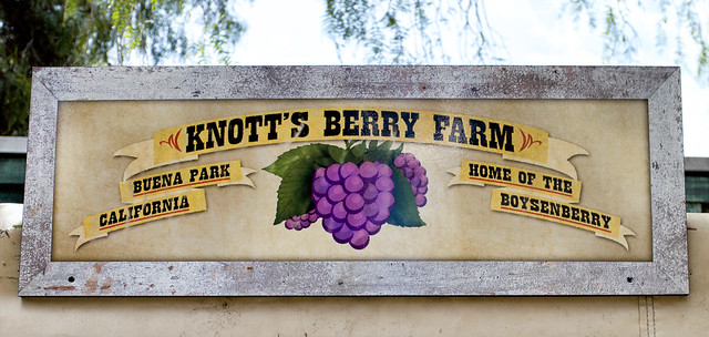 Home Of The Boysenberry Sign