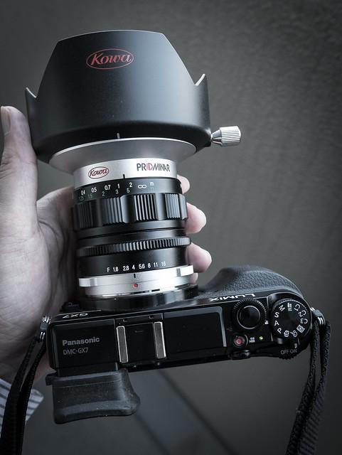 Lumix GX7 + Kowa Prominar 12mm F1.8