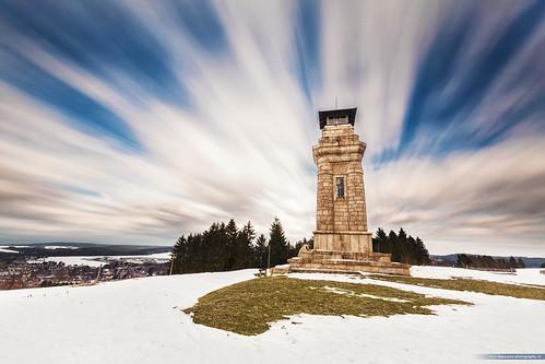Bismarck Tower Long Exposure