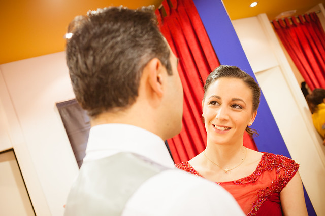 El reportaje de bodas. Parte I. En casa de los novios