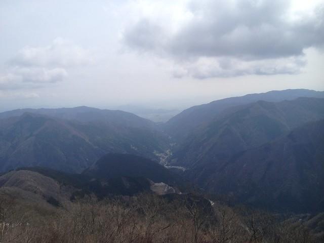 伊吹山 北尾根縦走路 国見岳から春日村