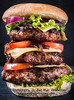 Triple cheesburger