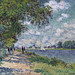 W 373 Monet - The Seine at Argenteuil [1875] by petrus.agricola