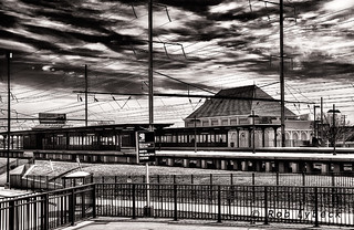 Train Scape N. Philly Station