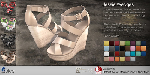 FATEstep - Jessie Wedges