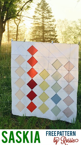 Saskia -- free modern quilt pattern