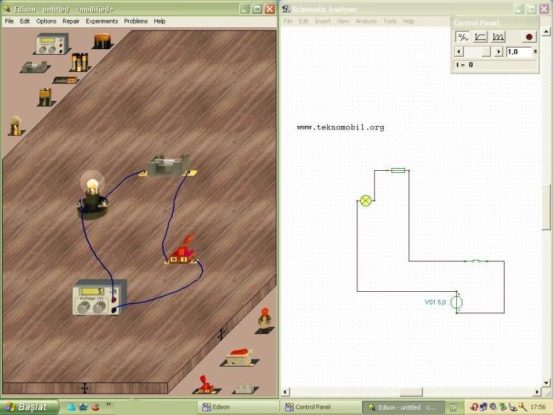 Edison v4.0 Devre Tasarlama 3D