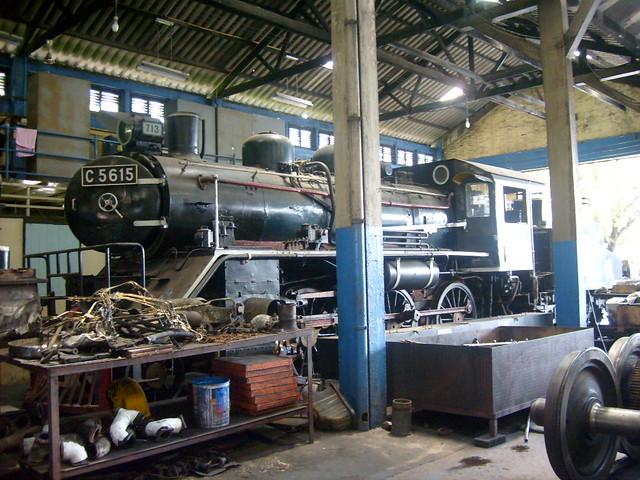 State Railways of Thailand 713. Thonburi Depot
