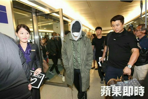 Big Bang - Taiwan Airport - 24sep2015 - Press - 02