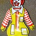 Puffy Ronald McDonald necklace-1983 by CheshireCat666