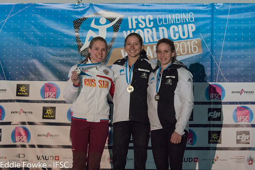 IFSC World Cup Villars 2016 (SPEED)