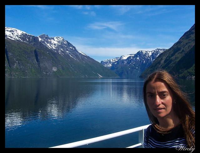 Fiordos noruegos Storfjord Geiranger Hellesylt Briksdal Loen - Fiordo Geiranger