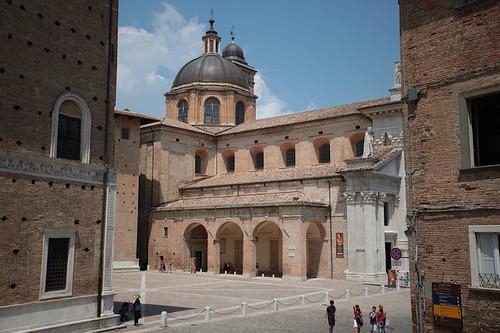 Vista sulla cattedrale
