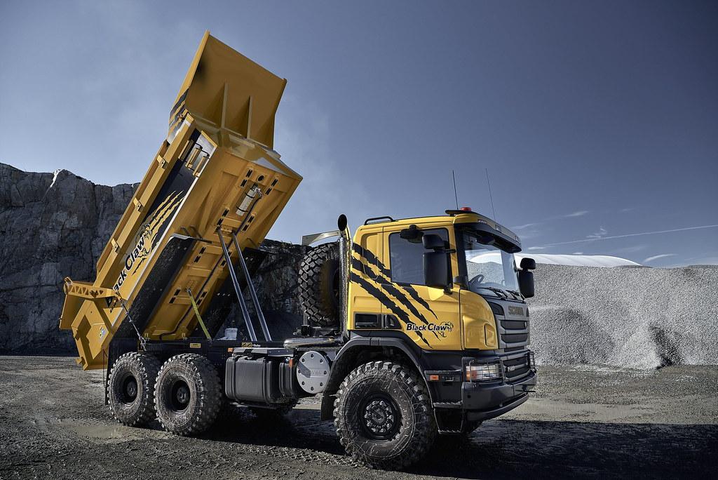 Scania черный коготь